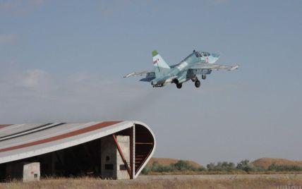 Аварія російського штурмовика Су-25: у канаві знайшли тіла загиблих пілотів