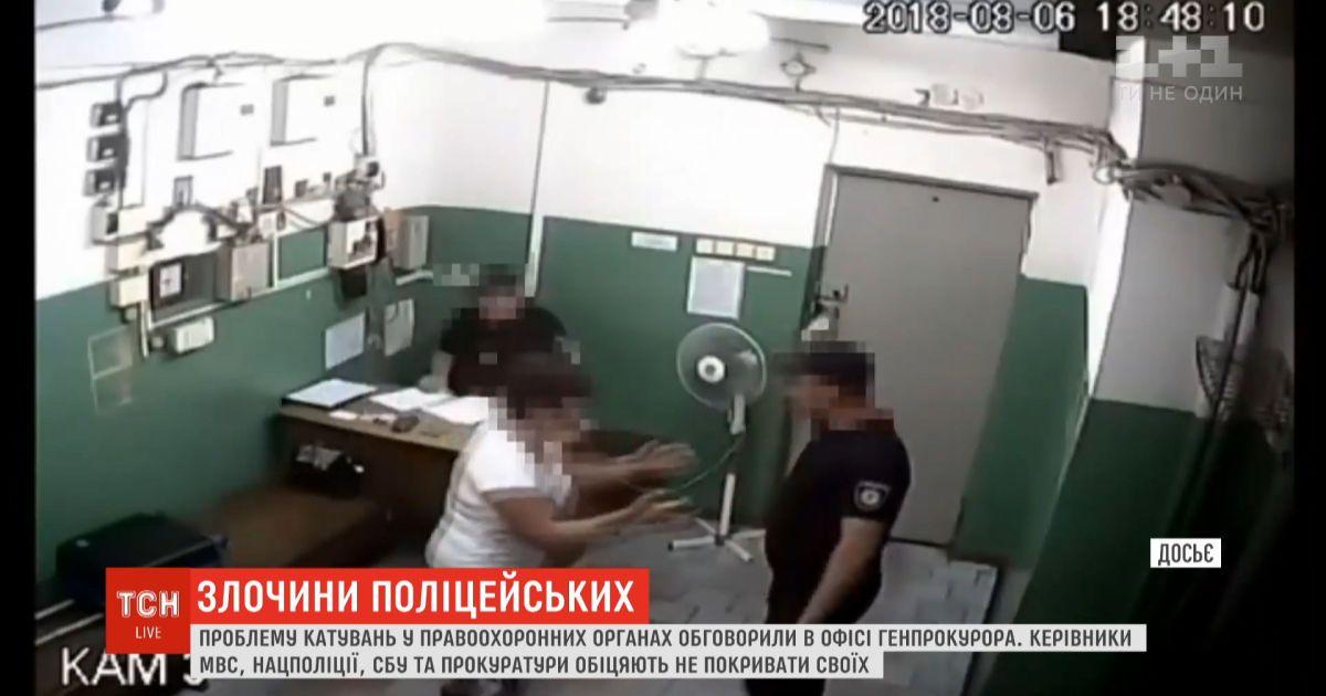 От рук копов в участке Кагарлыка пострадала не только 26-летняя женщина