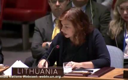 Війська бойовиків кидають виклик малим європейським країнам - постпред Литви в ООН