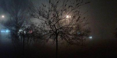 Київ і передмістя охопив густий туман