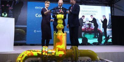 Зменшення залежності від Росії. Естонія та Фінляндія офіційно відкрили газопровід Balticconnector