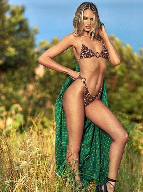 Кендіс Свейнпоул в рекламній кампанії Tropic of C / ©