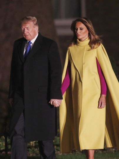 Дональд і Меланія Трамп / © Associated Press