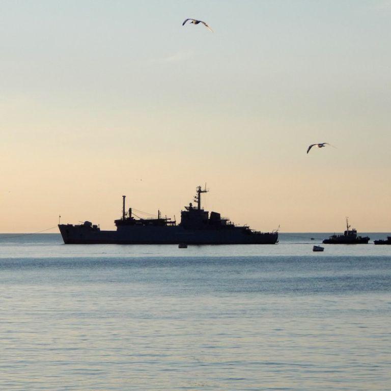 Россия перебазировала отряд кораблей Каспийской флотилии в воды Черного моря