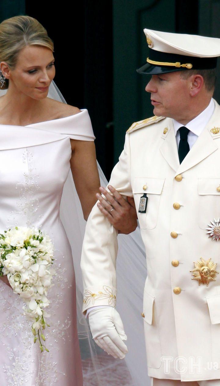 Свадьба княгини Шарлин и князя Альбера II / © Associated Press