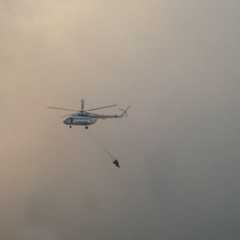 Масштабные пожары Харьковской и Луганской области гасит авиация МВД — Аваков