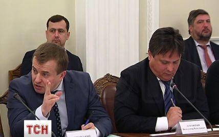 Яценюк откровенно игнорировал Демчишина на совещании антикризисного энергетического штаба
