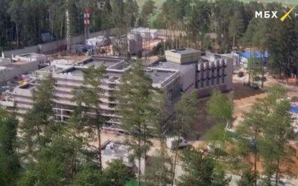Під Москвою біля резиденції Путіна ведеться масштабне секретне будівництво: фото