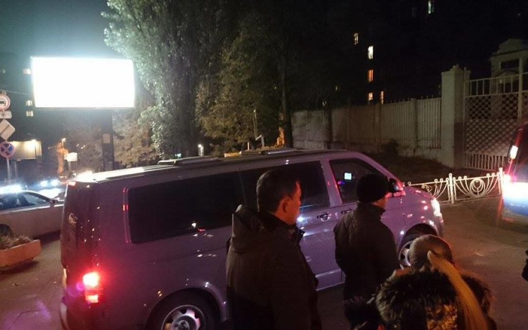 Корбана привезли в Киев / © ТСН.ua