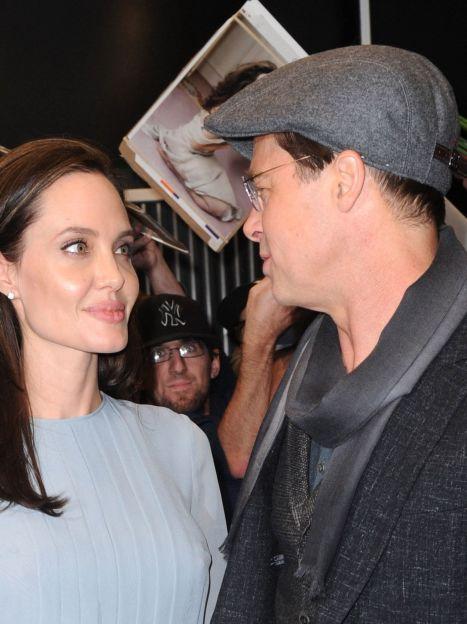 """Анджелина Джоли и Брэд Питт на показе фильма """"Лазурный берег"""" / © Getty Images"""