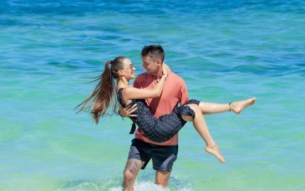 Ксенія Мішина та Олександр Еллерт публічно зізналися одне одному у коханні