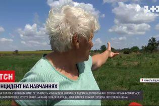 Новини України: під Миколаєвом снаряд, задіяний у військових навчаннях, вибухнув на сільському городі