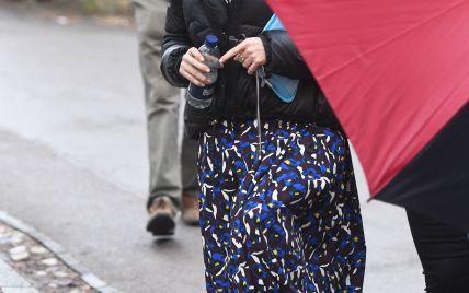 """В образе принцессы Маргарет: Хелена Бонэм Картер на съемках сериала """"Корона"""""""