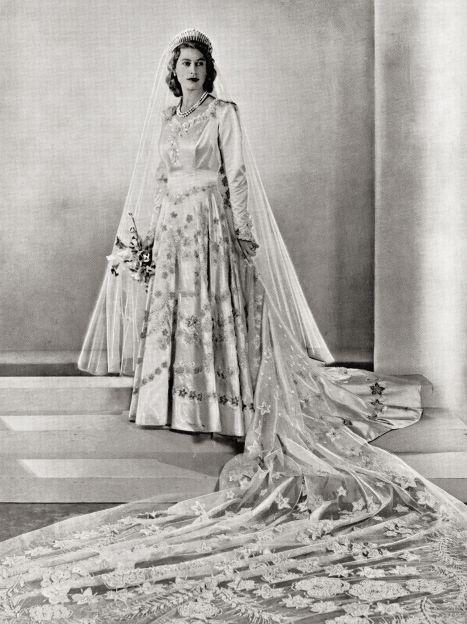 Весілля принцеси Єлизавети, 1947 рік / © Getty Images