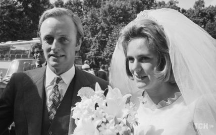 Белое платье и длинная фата: вспоминаем, как 25-летняя Камилла Шанд выходила замуж в первый раз