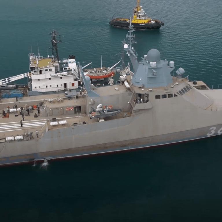Міг пильнувати за фрегатом США: українські прикордонники виявили військовий корабель РФ біля Чорноморська
