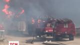 Военные Нацгвардии будут помогать тушить пожар в Василькове