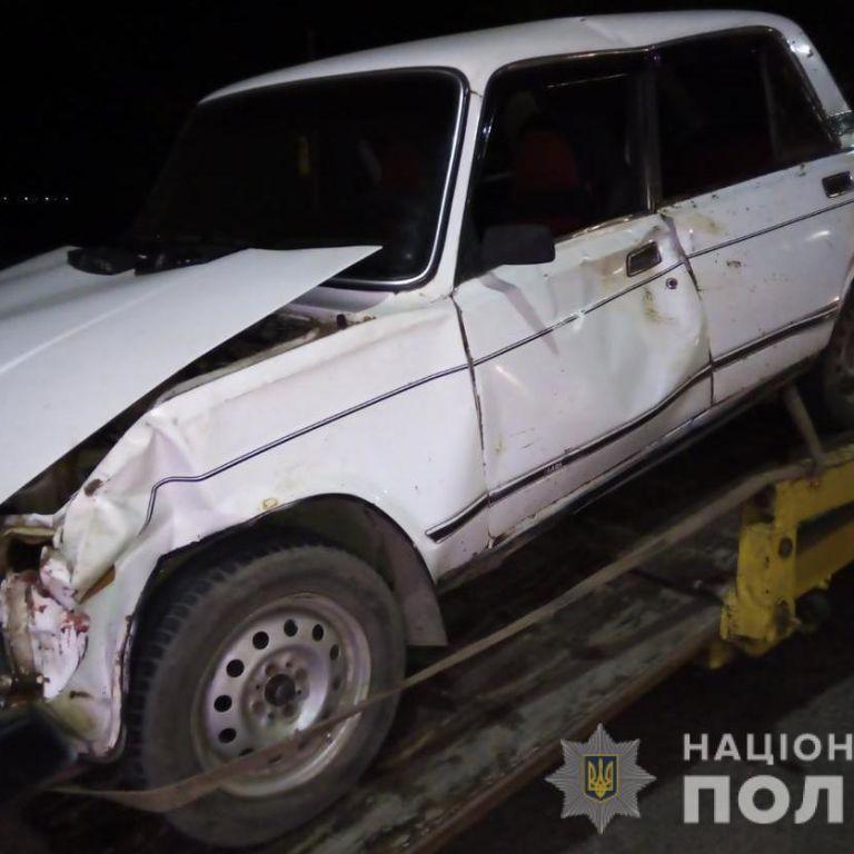 """Повний """"джек-пот"""": під Одесою п'яний водій без документів збив корову і втік з місця ДТП"""