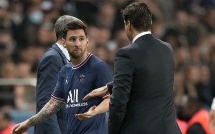 Показав характер після заміни: Мессі відмовився потиснути руку головному тренеру ПСЖ (відео)