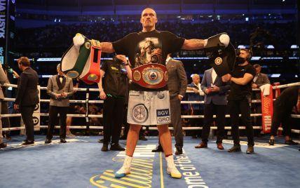 Світове визнання: Усик стрімко злетів у рейтингу найкращих боксерів надважкої ваги
