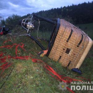 В полиции сообщили, кто погиб и пострадал в результате падения воздушного шара в Хмельницкой области