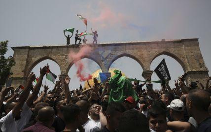 """В Израиле в попытке провести """"марш победы"""" за ХАМАС пострадало 35 человек"""