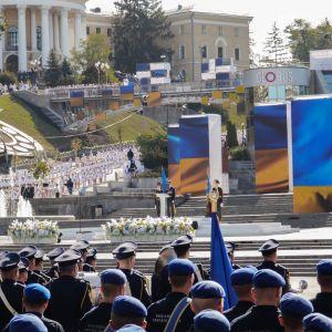 Хід замість військового параду та Марш захисників. Як у Києві святкували День Незалежності