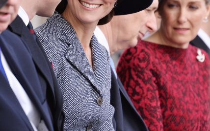 В пальто от Michael Kors и в любимых лодочках: герцогиня Кембриджская на официальном мероприятии