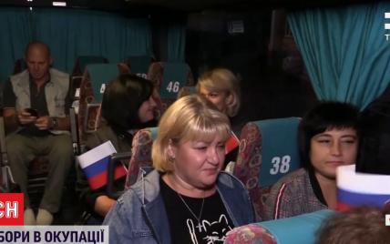 Доказ окупації: як жителів ОРДЛО автобусами возили до Росії на вибори