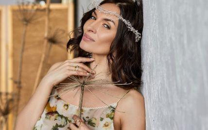39-летняя Надежда Мейхер показалась без макияжа на отдыхе в Италии