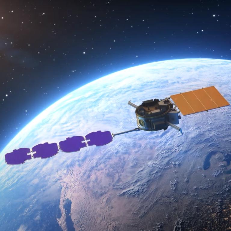У США показали, як будуть отримувати енергію в космосі і відправляти її на Землю
