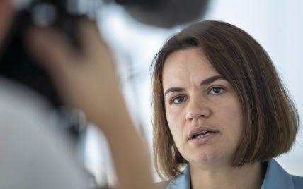 Тихановська вважає, що Лукашенко може використати війська РФ у Білорусі для шантажу України