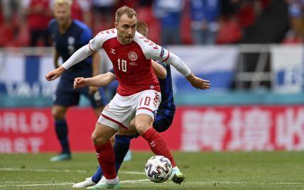 Стали известны новые подробности о состоянии футболиста сборной Дании, который чуть не умер на поле во время матча Евро-2020