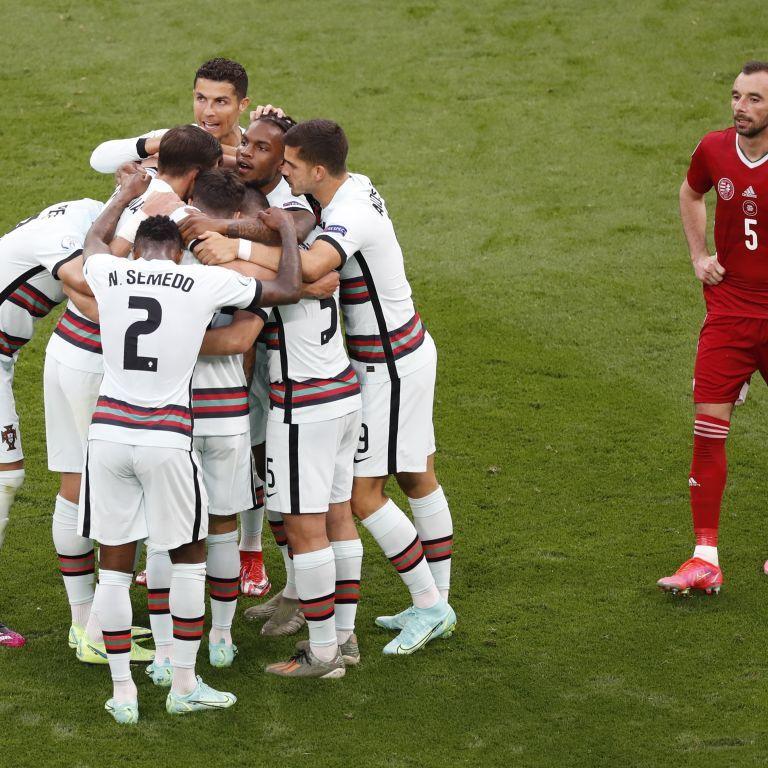 Португалия в концовке разгромила Венгрию на Евро-2020: Роналду оформил дубль