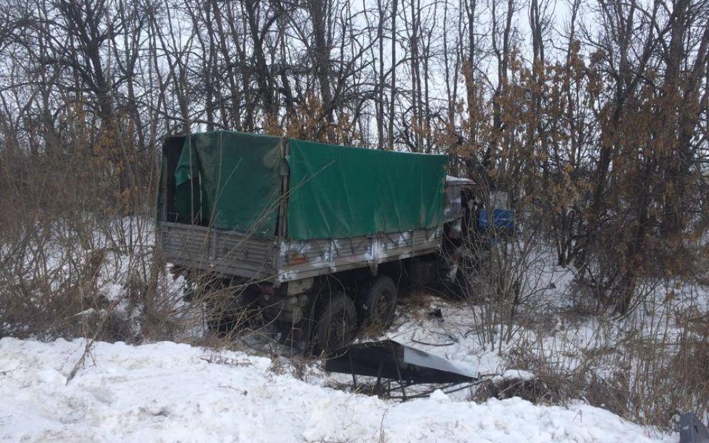 Перші фото кривавої ДТП на Донбасі / Григорій Жигалов, кореспондент ТСН / © ТСН.ua