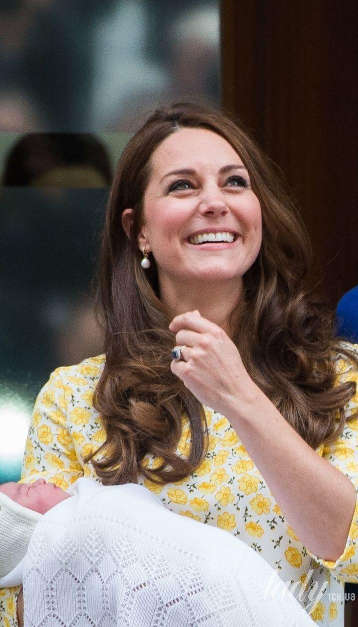 Герцогиня Кэтрин и принц Уильям с дочерью Шарлоттой / © Getty Images