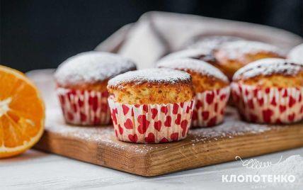 Кексы на кефире с апельсином: рецепт от Евгения Клопотенко