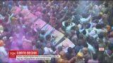 Тисячі людей взяли участь у яскравому релігійному святі Індії