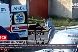Новости Украины: на железной дороге Коростеня за последние 3 дня случилось уже 2 несчастный случая
