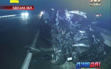 На Одесской трассе произошла страшная авария с участием иностранца