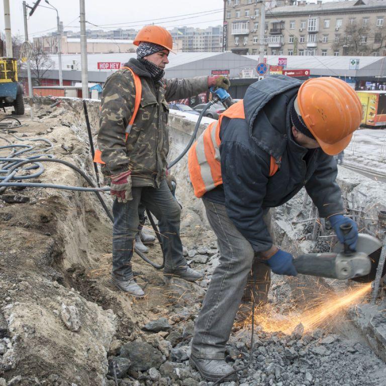 """Кличко розказав, коли закінчиться """"чистове"""" асфальтування Шулявського шляхопроводу"""