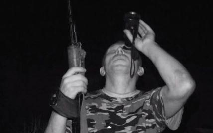 """Бойцы АТО показали видео ночной """"охоты"""" на вражеские беспилотники в Песках"""