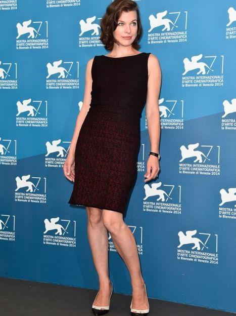Мила Йовович на фотоколле Венецианского кинофестиваля, сентябрь 2014 года / © Getty Images/Fotobank