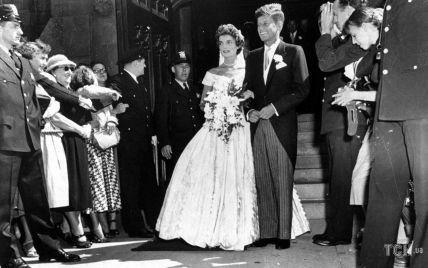 """""""Королевская"""" свадьба Джона и Жаклин Кеннеди: брак, который закончился трагично"""