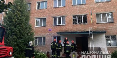 Во время пожара в общежитии университета в Умани пострадали шесть студентов