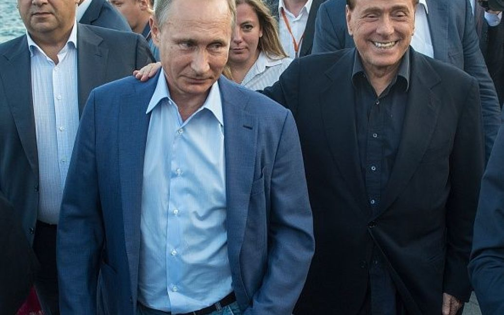 Путин и Берлускони провели уикенд в Крыму / © Getty Images