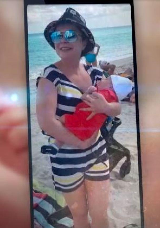 Наташа Корольова з донькою / © скриншот з відео