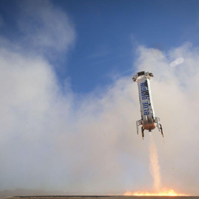 Самое главное о полете Джефф Безос в космос: прямая трансляция