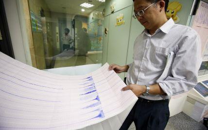 30 землетрусів за п'ять годин: Тайвань добряче потрусило