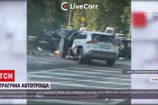 Новости мира: в оккупированном Крыму произошла масштабная автотроща с самосвалом